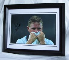 "A471PG PAUL ""GAZZA"" GASCOIGNE SIGNED"